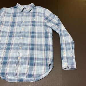 Lucky Brand Shirts - Lucky Brand Mens Blue Flannel LS Size M GUC